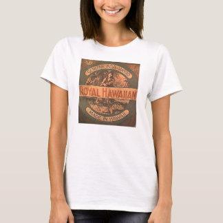 Camisa da etiqueta do Ukulele do vintage
