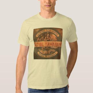 Camisa da etiqueta do Ukulele do vintage Camiseta