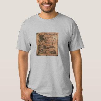 Camisa da etiqueta do Ukulele do vintage T-shirt