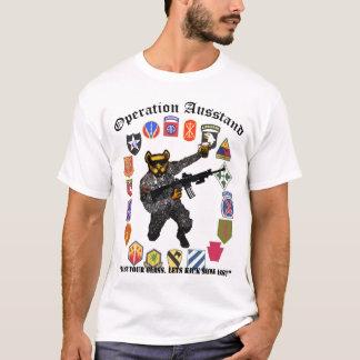 Camisa da excursão do bar do Anderson-Exército