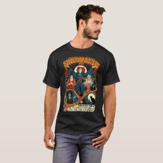 Camisa da excursão do vintage das irmãs de