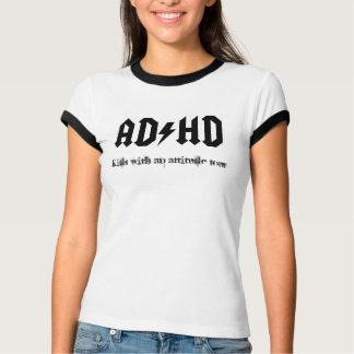 Camisa da excursão T de ACDC ADHD