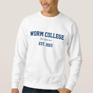camisa da faculdade do sem-fim