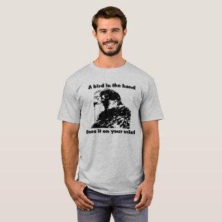 Camisa da falcoaria T do falcão de peregrino