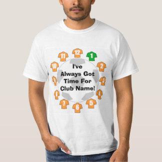 Camisa da fidelidade do futebol