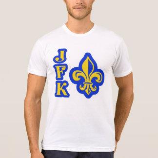 Camisa da flor de lis de JFK