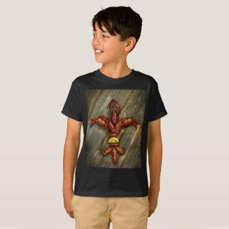 Camisa da flor de lis T dos lagostins