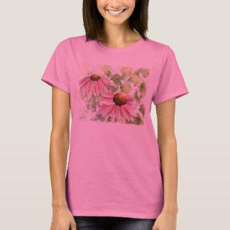 Camisa da flor do cone