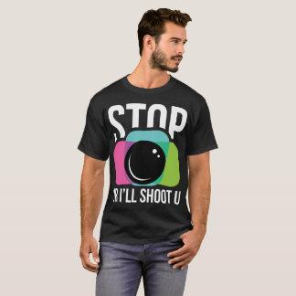 Camisa da fotografia T