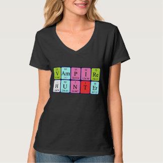 Camisa da frase da mesa periódica de VampireHunter T-shirts