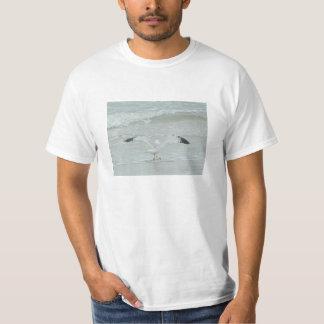 Camisa da gaivota dos animais selvagens de Schulze