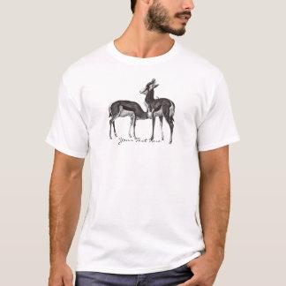 Camisa da gazela do vintage