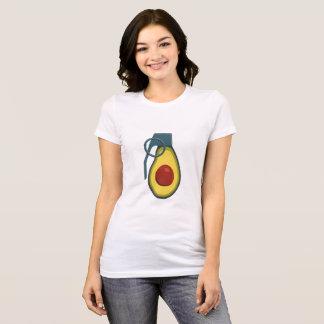 Camisa da granada do abacate - comando do Keto
