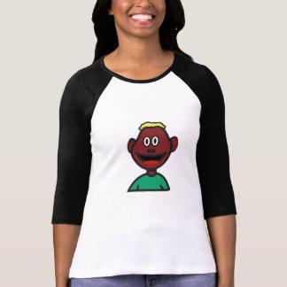 Camisa da ilustração T dos desenhos animados