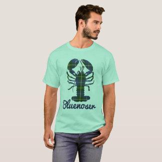 Camisa da lagosta do Tartan de Bluenoser Nova