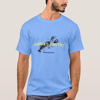 Camisa da lagosta T de Massachusetts do Martha's