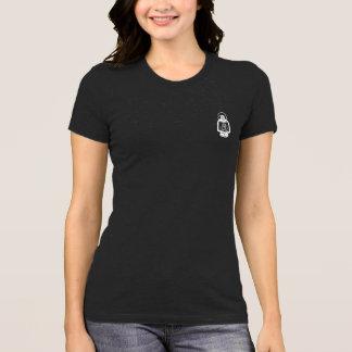Camisa da lanterna do monograma - branco