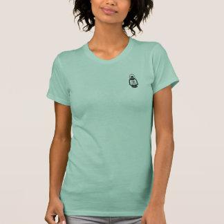 Camisa da lanterna do monograma - preto