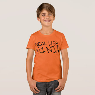 Camisa da laranja de Ninja da vida real dos