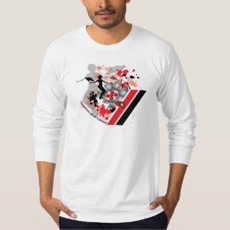 Camisa da lembrança de FlagWoman