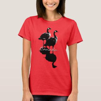 Camisa da lembrança do ganso de Canadá do t-shirt