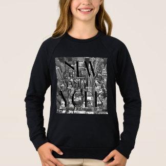 Camisa da lembrança do miúdo da camisola NYC do