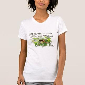 Camisa da libélula camisetas