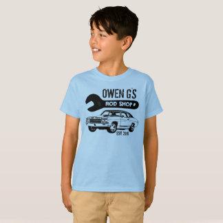 Camisa da loja do hot rod