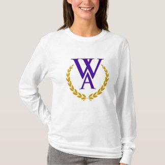 Camisa da Longo-Luva da academia de Westminster