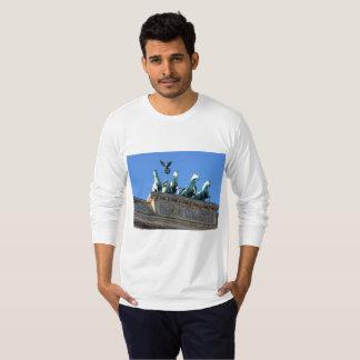 Camisa da Longo-Luva dos homens que caracteriza a