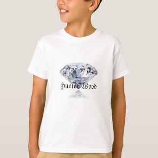 Camisa da madeira do caçador do diamante