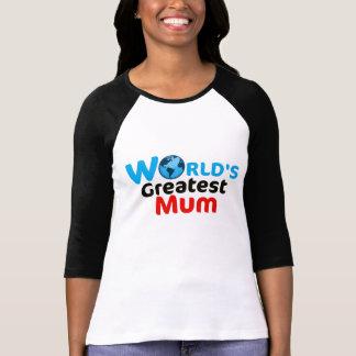 Camisa da mãe do mundo a grande (versão BRITÂNICA)