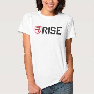 Camisa da malhação das mulheres da elevação t-shirt