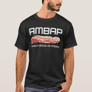 """Camisa da malhação do AMBAP dos homens"""" (lado"""