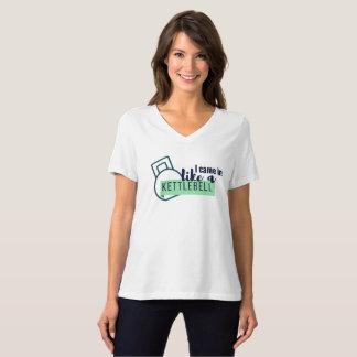 Camisa da malhação - humor de Kettlebell