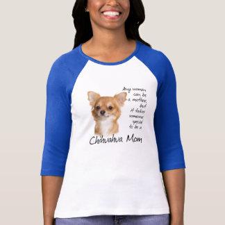 Camisa da mamã da chihuahua