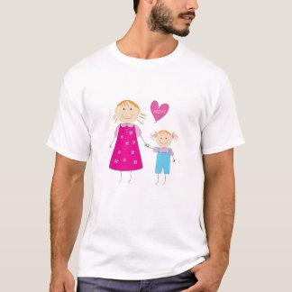 Camisa da mamã do amor