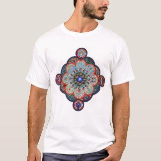 Camisa da mandala de Jung para homens