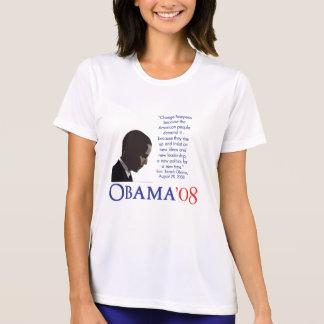 Camisa da maratona de Obama - mulheres