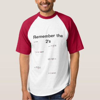 Camisa da matemática