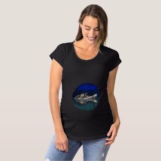 Camisa da maternidade da luva do Short do jacaré