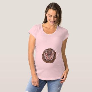 Camisa da maternidade da luva do Short do ouriço