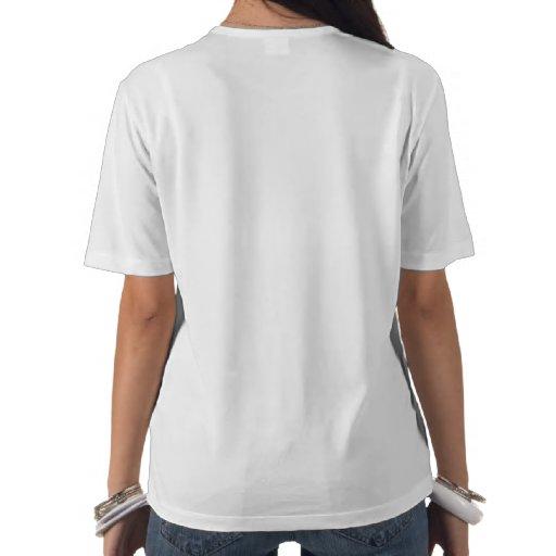 Camisa da menina do corredor t-shirts