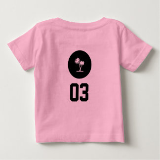 Camisa da menina do miúdo da ilha da equipe