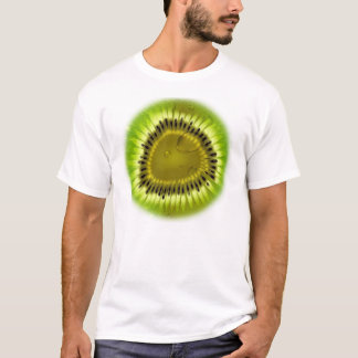 Camisa da mistura do quivi