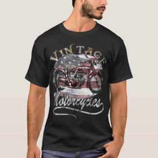 Camisa da motocicleta T do vintage