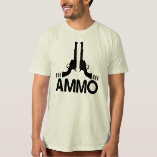 Camisa da munição - impressão do revólver t-shirt