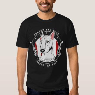 Camisa da obscuridade de bull terrier t-shirts
