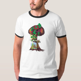Camisa da origem do Saguaro Camisetas