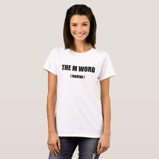 Camisa da palavra da senhora PartsTV Lésbica Filme